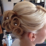 mobile wedding hair and makeup - formal hair stylist