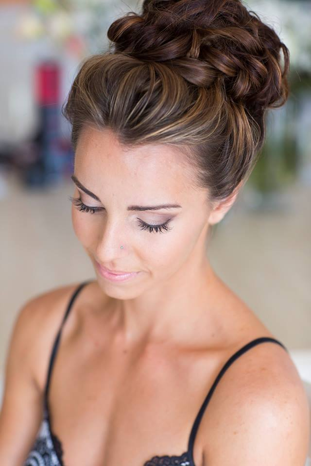 Bridal Hair and Makeup Brisbane - formal makeup