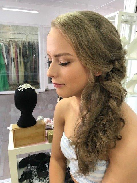 school formal hair and makeup Brisbane