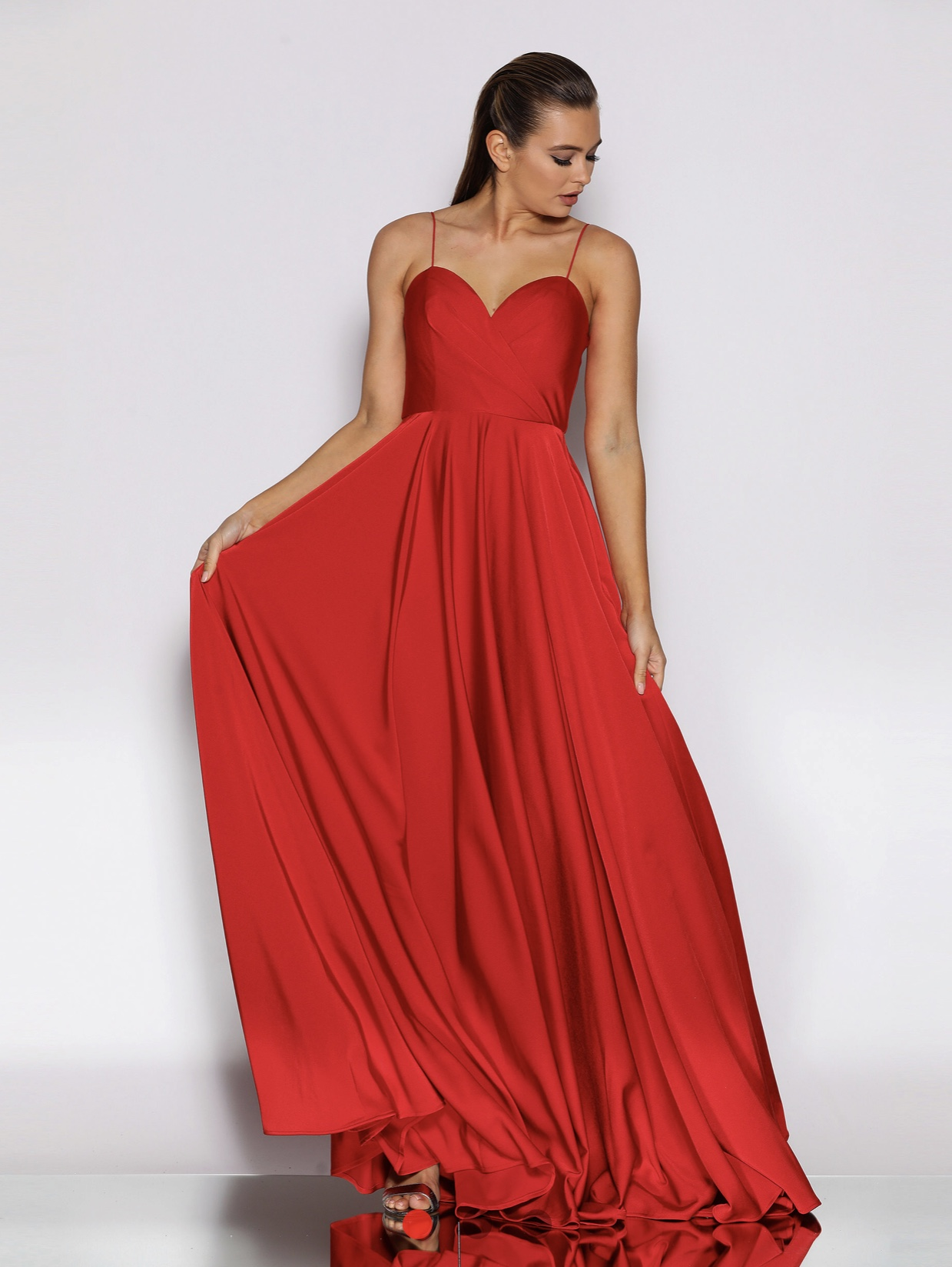 JX2103 Jadore Dress Red